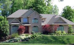 HOME bonita da propriedade Fotografia de Stock