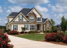home bostadsberättelse två royaltyfri fotografi