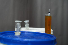 Home brew hydrometer Royalty Free Stock Images
