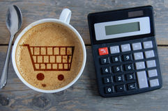 Home budget finances Royalty Free Stock Image