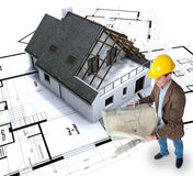 Home building Royalty Free Stock Image