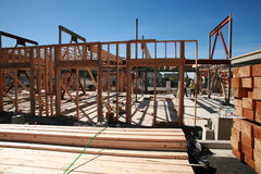 Home building construction and building concepts Royalty Free Stock Photography