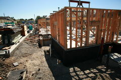 Home building construction and building concepts Royalty Free Stock Images
