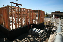 Home building construction and building concepts Stock Photo