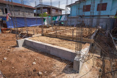 Home building construction Stock Images
