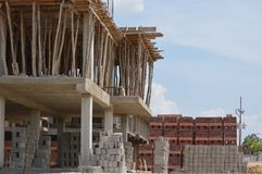 Home building construction Royalty Free Stock Photography