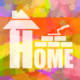 Home building and design Stock Image