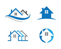 Home and building logo. Home and building and other company Stock Photos