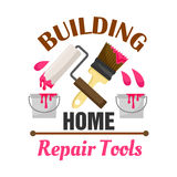Home building and repair work tools icon Stock Images