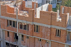 Home building under constrution Stock Photography