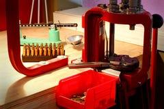 Free Home Bullet Reloading Workstation Stock Images - 29763394