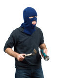 Home Burglary Stock Photos