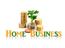 Home business concept. Stock Photo