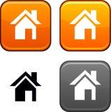 Home button. Stock Photos