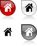 Home button. Royalty Free Stock Images