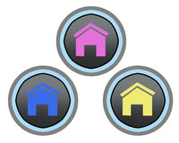 Home Button Royalty Free Stock Photo