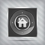Home button icon Stock Photography