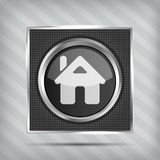 Home button icon Royalty Free Stock Image