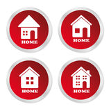 Home buttons Royalty Free Stock Image