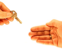 Home Buyer. Home buying conceptual business image I made with plenty of room to add your text Stock Photo