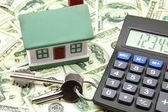 Home buying Royalty Free Stock Photo