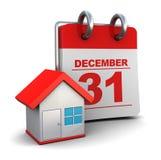 Home calendar Royalty Free Stock Photography