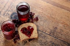 Home Canned Preserves Stock Photography