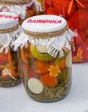Home canning Stock Photography