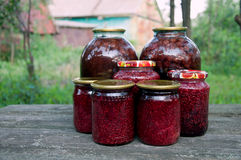 Home canning. Jam Royalty Free Stock Photo