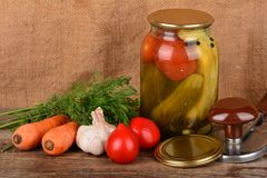 Home canning Royalty Free Stock Photography