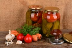 Home canning Stock Photos