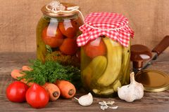 Home canning Royalty Free Stock Image
