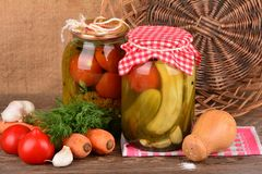 Home canning Royalty Free Stock Images
