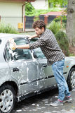 Home car wash Royalty Free Stock Images