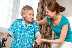 Home care royalty free stock image