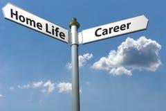 Home or career Stock Photos