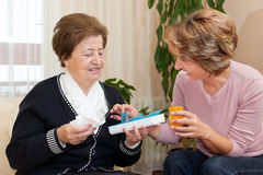 Home Caregiver Stock Photos