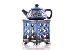 Home Ceramic Oil Burner Stock Photo
