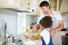 Home chores Stock Images