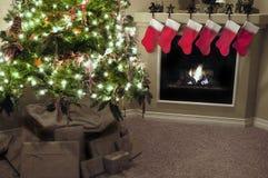 Home for Christmas stock image