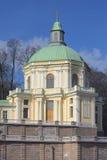 Home Church of St. Panteleimon - Church pavilion of Menshikov's Great Palace. Oranienbaum Stock Photos