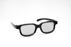 Home cinema 3D glasses Royalty Free Stock Images