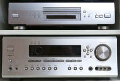 Home cinema system Stock Images