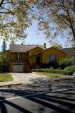 HOME clássica na península do sul de Califórnia de San Francisco. Imagem de Stock Royalty Free