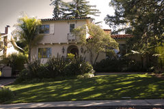 HOME clássica na península do sul de Califórnia de San Francisco. Fotografia de Stock Royalty Free
