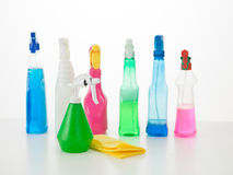 Home cleaning products Stock Photo