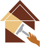 Home cleaning. Vector illustration of home cleaning Royalty Free Stock Photography