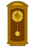 Home clock Royalty Free Stock Photography