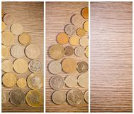 Home Of Coins Royalty Free Stock Images