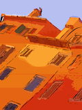HOME coloridas Fotografia de Stock